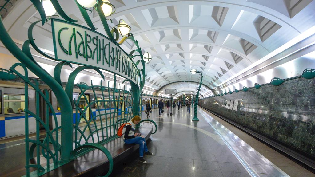 станции московского метро фотографии