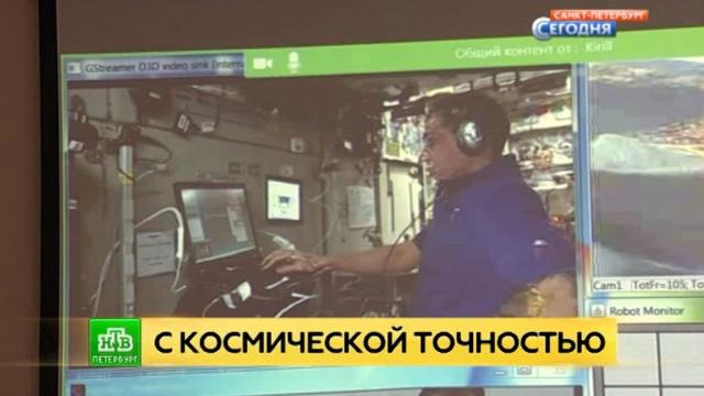 Российский космонавт учится управлять петербургским марсоходом дистанционно.МКС, Санкт-Петербург, космонавтика, космос, наука и открытия, роботы.НТВ.Ru: новости, видео, программы телеканала НТВ