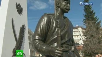 В Греции установили памятник русским солдатам Первой мировой войны