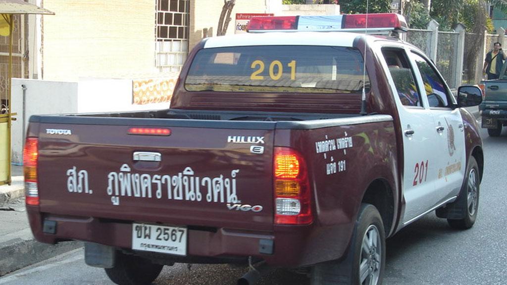 Туристы попавшие в аварию в тайланде