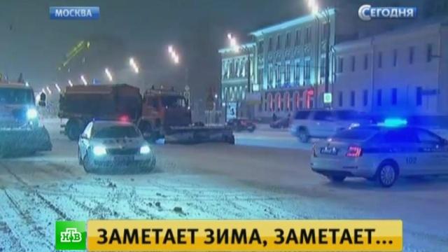 Мощный циклон обрушит на Центральную Россию рекордное количество снега.Москва, аэропорты, зима, погода, снег.НТВ.Ru: новости, видео, программы телеканала НТВ