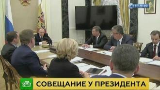 Путин раскритиковал правительство за неготовность к эпидемии гриппа