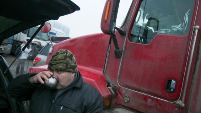 Россия начала ответную блокаду украинских фур.грузовики, МИД РФ, Украина.НТВ.Ru: новости, видео, программы телеканала НТВ
