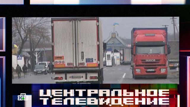 «Медвежья блокада»: украинские радикалы объявили войну российским фурам.грузовики, дорожное движение, Польша, Украина.НТВ.Ru: новости, видео, программы телеканала НТВ