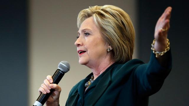 Американские СМИ заявили о победе Клинтон на первичных выборах в Неваде. Клинтон Хиллари США выборы
