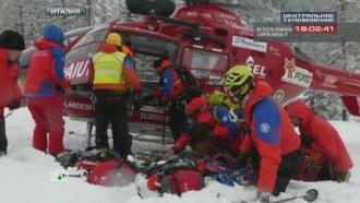 Шесть человек погибли при сходе лавины в Альпах