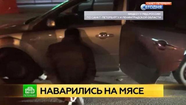 Мошеннику из банды петербургских лжемясников грозит до 10 лет тюрьмы.Санкт-Петербург, задержание, мошенничество, полиция.НТВ.Ru: новости, видео, программы телеканала НТВ