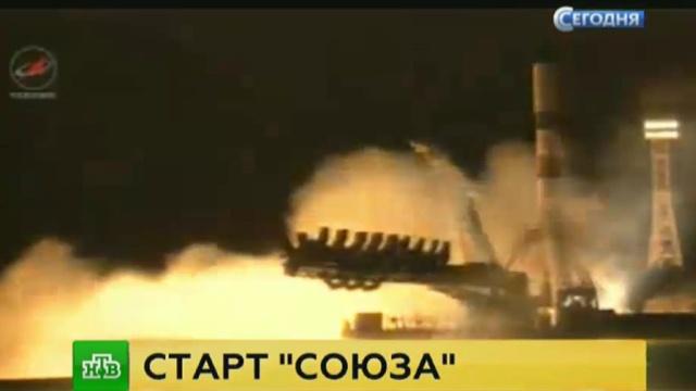 СБайконура стартовал Союз снапечатанным на 3D-принтере спутником