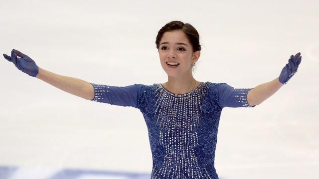Российская фигуристка Медведева установила новый мировой рекорд в произвольной программе. Бостон США фигурное катание