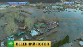Всибирские города исела пришла большая вода