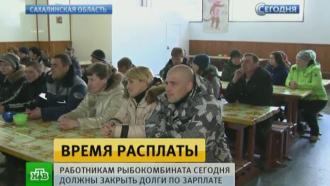 Сотрудникам рыбокомбината на Шикотане выплатили долги по зарплате