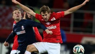 «Спартак» не удержал победный счет вматче с«Мордовией»