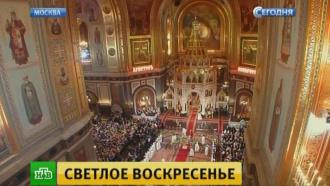 Патриарх Кирилл подарил президенту и премьеру ювелирные пасхальные яйца.Пасха, патриарх, православие, религия, торжества и праздники.НТВ.Ru: новости, видео, программы телеканала НТВ