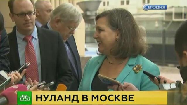 В Кремле объяснили суть визита Нуланд в Москву.Госдепартамент США, дипломатия, Песков, США, Украина.НТВ.Ru: новости, видео, программы телеканала НТВ
