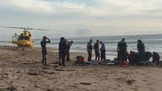 Упобережья Австралии акула откусила серферу ногу