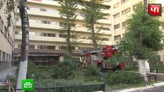 В Москве из-за пожара в общежитии эвакуировали 350 человек