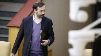 Илья Пономарёв лишен депутатских полномочий