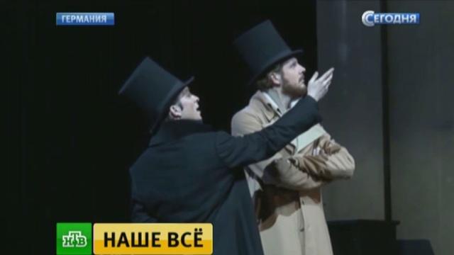 В Берлине показали нашумевший спектакль «Евгений Онегин».Германия, театр.НТВ.Ru: новости, видео, программы телеканала НТВ