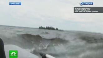 ВКарелии спасатели искали выживших втрагедии на озере