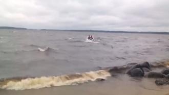 Опубликовано первое видео сместа гибели детей вКарелии