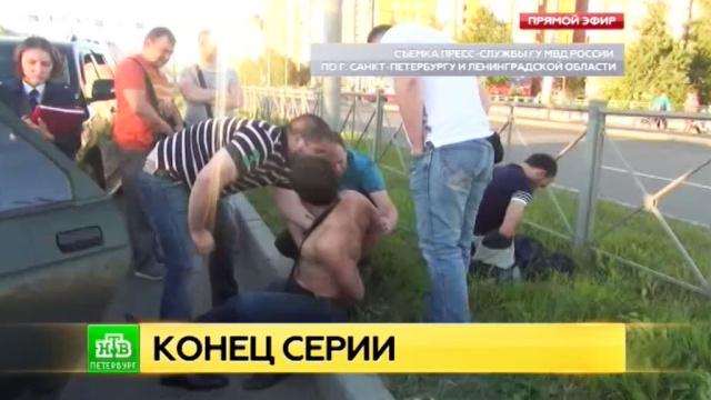 В Северной столице задержаны серийные грабители.Санкт-Петербург, аресты, задержание, кражи и ограбления, полиция.НТВ.Ru: новости, видео, программы телеканала НТВ