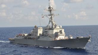 Эсминец США опасно сблизился сроссийским кораблем вСредиземном море