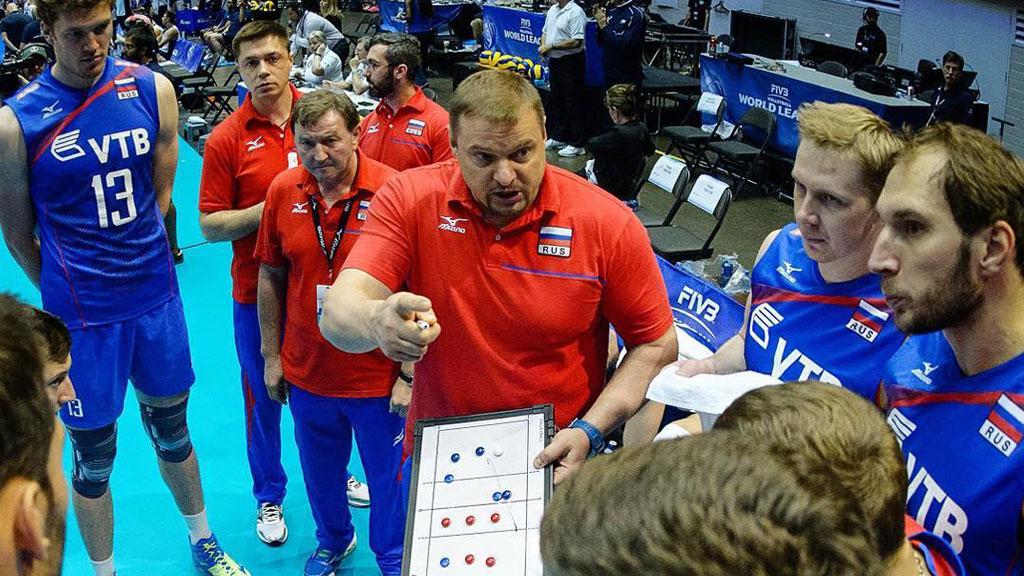 Российские волейболисты проиграли США иостались без Финала шести