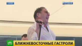 Лепс спел свои хиты российским летчикам на базе Хмеймим