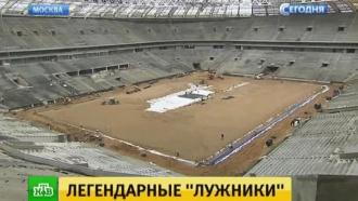 В Москве открылась выставка об истории стадиона «Лужники»