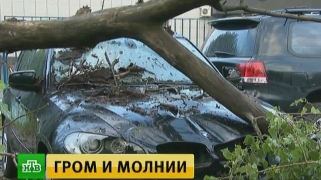 В Подмосковье во время грозы погиб один человек, 17 пострадали.Москва, погода.НТВ.Ru: новости, видео, программы телеканала НТВ