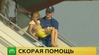 Тяжелобольных детей из Донбасса привезли в Москву на лечение