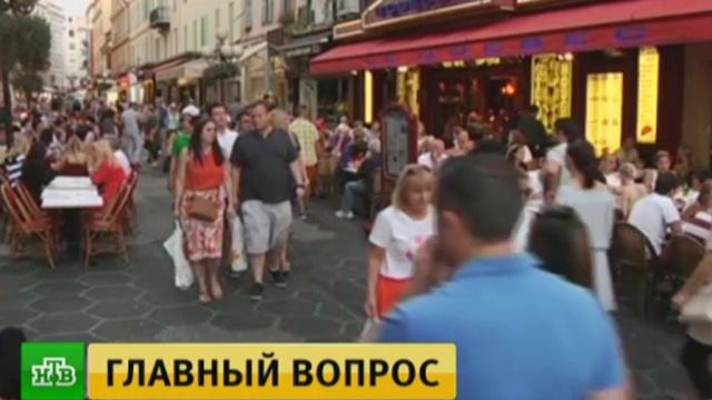 На второй день траура в Ницце воцарилась атмосфера обреченности.Франция, терроризм.НТВ.Ru: новости, видео, программы телеканала НТВ