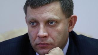 Захарченко навестил пострадавшего при покушении Плотницкого
