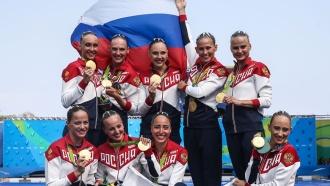 Семьи российских синхронисток не сдержали слез и эмоций после победы в Рио