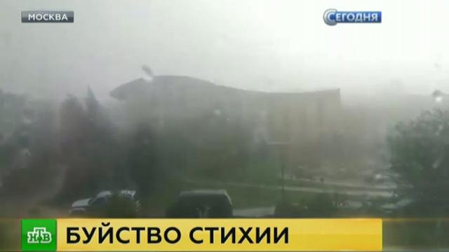 На Москву обрушился град размером скуриное яйцо.Москва, погода.НТВ.Ru: новости, видео, программы телеканала НТВ