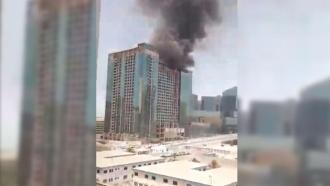 ВЭмиратах небоскреб вспыхнул <nobr>из-за</nobr> сломавшегося кондиционера