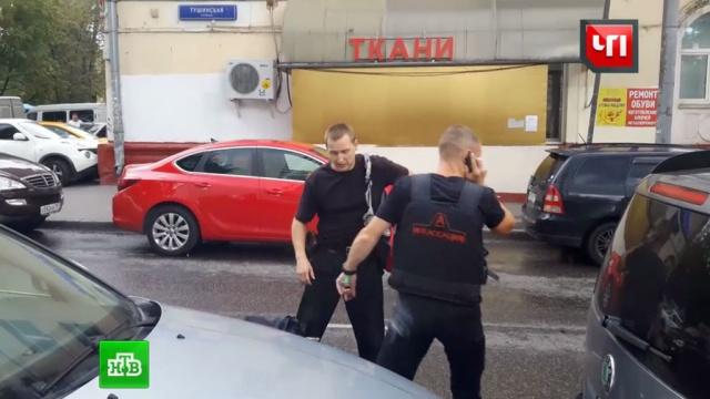 Инкассаторский автомобиль ограбили на глазах десятков прохожих.Москва, инкассаторы, кражи и ограбления, нападения, полиция.НТВ.Ru: новости, видео, программы телеканала НТВ
