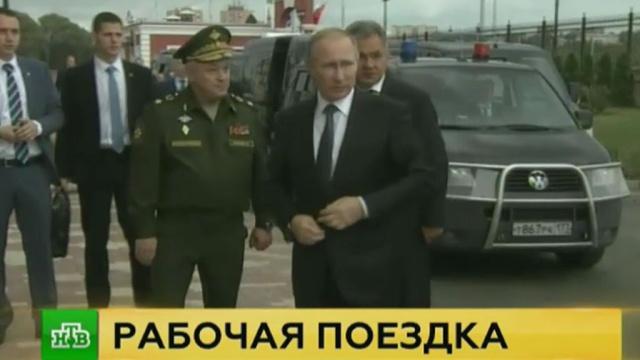Путин в Туле осмотрел образцы гражданского хай-тека на базе ВПК.ВПК, промышленность, Путин, технологии, Тула.НТВ.Ru: новости, видео, программы телеканала НТВ