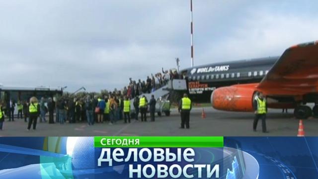 Ваэропорт Жуковский первый пассажирский самолет прибыл сопозданием.Москва, Московская область, авиакомпании, авиация, аэропорты, самолеты.НТВ.Ru: новости, видео, программы телеканала НТВ