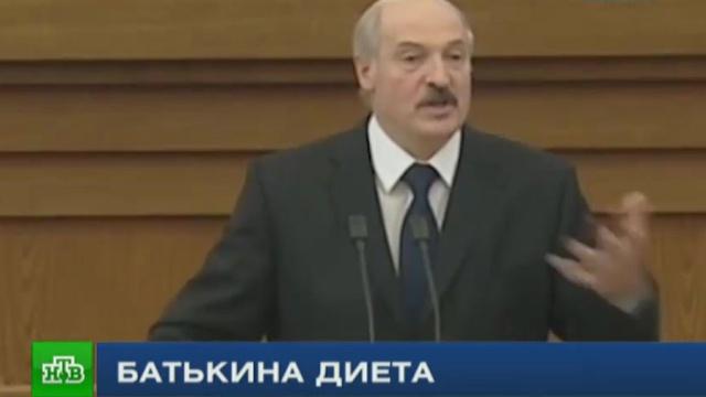 Лукашенко раскрыл секрет чудо-диеты от Медведева.Белоруссия, Лукашенко, еда, здоровье, продукты.НТВ.Ru: новости, видео, программы телеканала НТВ