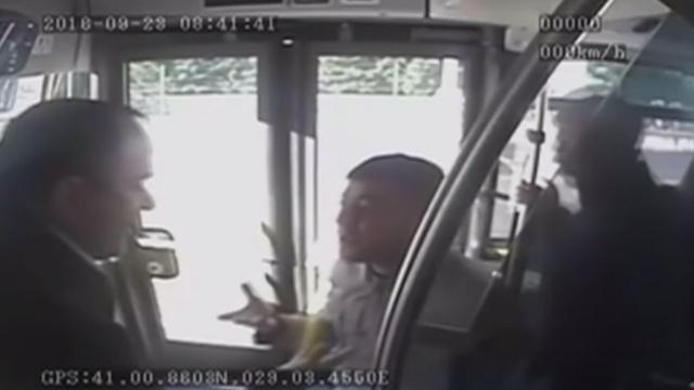 В Стамбуле агрессивный пассажир автобуса спровоцировал крупное ДТП.ДТП, Стамбул, Турция, нападения.НТВ.Ru: новости, видео, программы телеканала НТВ