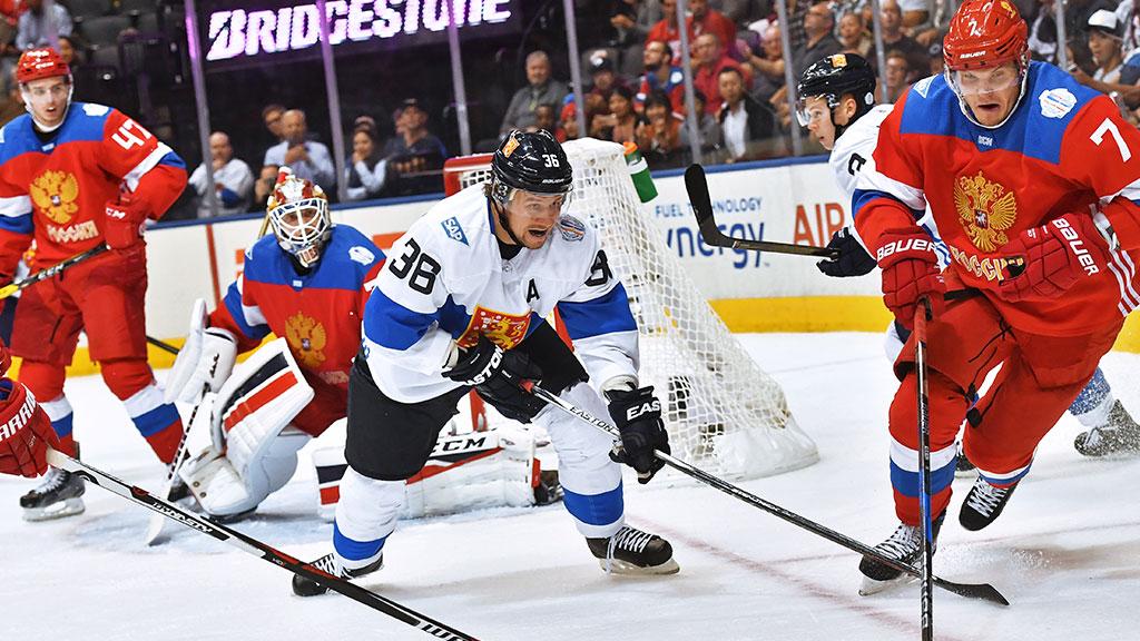 Сборная России вышла вполуфинал Кубка мира по хоккею