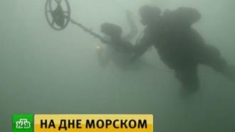 На дне Каспийского моря ищут затонувшие корабли флотилии Петра I