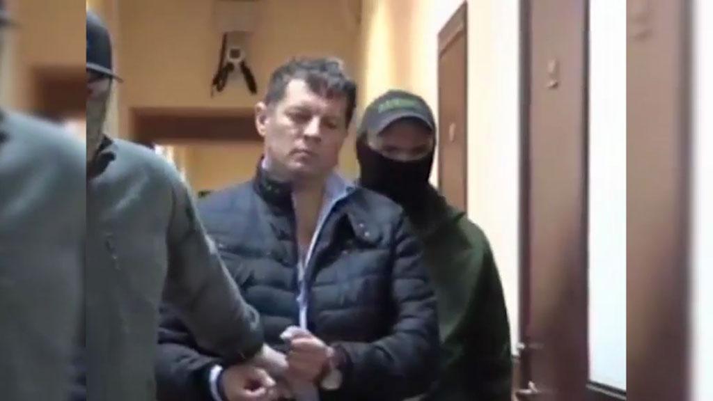 Заявление: задержание в Москве украинского журналиста Сущенко - российская провокация