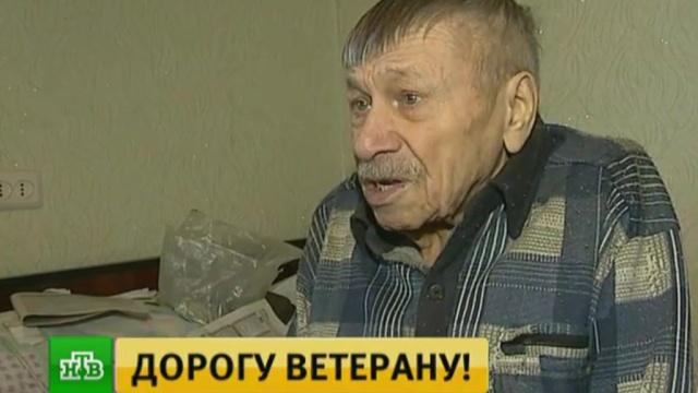 ВВоронеже 92-летний ветеран-инвалид 3года не может добиться установки пандуса.Воронеж, ЖКХ, ветераны, инвалиды.НТВ.Ru: новости, видео, программы телеканала НТВ