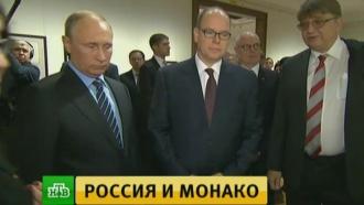 Владимир Путин икнязь Монако открыли выставку иобсудили сотрудничество