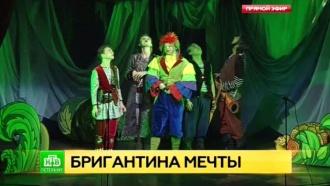 Пиратский мюзикл для детей вПетербурге сыграют на настоящем фрегате