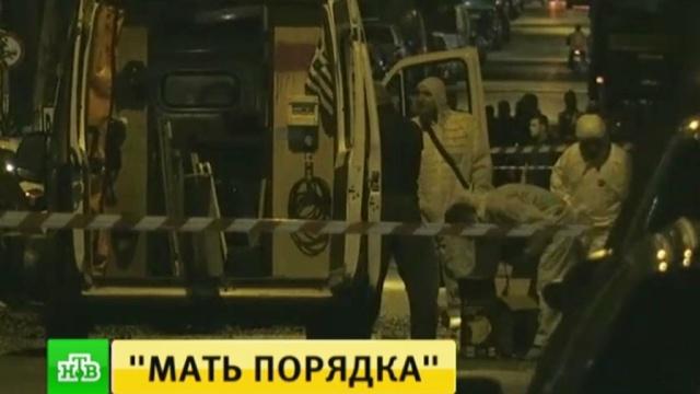Вцентре Афин взорвали книжный магазин.Афины, Греция, взрывы, магазины, терроризм.НТВ.Ru: новости, видео, программы телеканала НТВ
