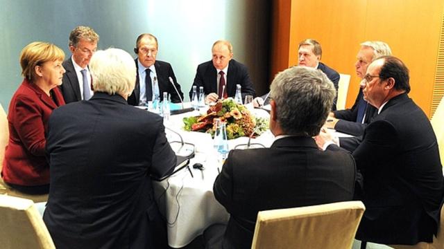 Путин рассказал об итогах «нормандской» встречи вБерлине.переговоры, Путин, Берлин, Украина, Меркель, Франция, Олланд, Порошенко.НТВ.Ru: новости, видео, программы телеканала НТВ