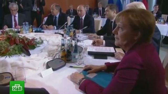 В Кремле подтвердили согласие Путина на размещение полицейской миссии ОБСЕ в Донбассе.Германия, Меркель, Олланд, Порошенко, Путин, Украина, Франция.НТВ.Ru: новости, видео, программы телеканала НТВ